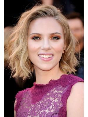 Scarlett Johansson Mittellange Natürlich Wellen Perücke
