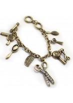 Gold Heart Style Alloy Bracelets For Women