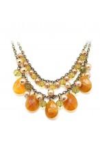 Fashionable Retro Short Collar Bone Necklace For Women