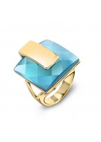 Fashionable Blues Soul Ring