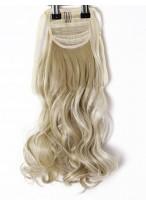 Synthetisches Haar Pferdeschwanz Wellige Clip In Haarteile