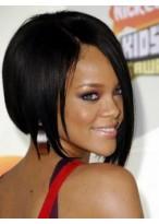 Rihanna Kurze Gerade Promi Perücke