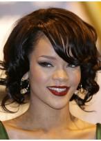 Rihanna'S Bob Locken Perücke 2014