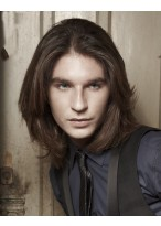 Modern männliche Haar Perücke