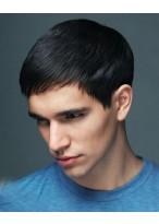 Modern Kurz geschnitten Perücke für Männer