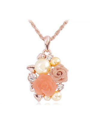 The Rose Of Versailles Retro Short Collar Bone Necklace