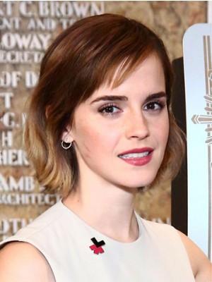 Emma Watson Kurze Frisur Mit Pony Perücke Fashion Promi