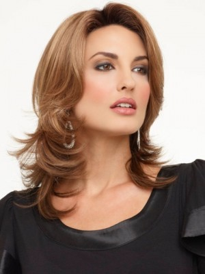 Stufig Haar Für Mittellange Schöne Haar Perücke Kaufen Mode