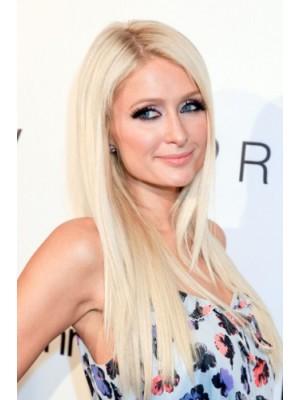 Paris Hilton Lange Blonde Perücke