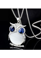 204 Summer'S Owl Shpae Necklace