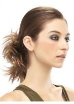 Spiky Bold Style Remy Hair Bun