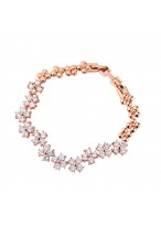 Fashion And Lucy Style Zircon Bracelets For Brides