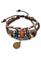 Fashionable Rope Buckle Agate Unisex Bracelets