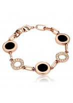 Rose Gold Austrian Crystal Bracelets For Fashion Lovers