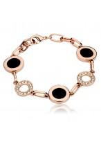 Rose Gold Austrian Crystal Bracelets For Fashion Lovers