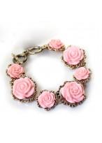 Retro Printed Ceramics Design Bracelets For Girls