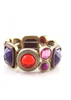 Elegant Purple Retro Alloy Design Bracelets For Girls