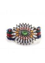 Multi Color Wide Desig Alloy Bracelets For Girls