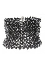 Gorgeous Austrian Crystal Wide Bracelets For Parties