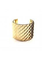 Fashionable Golden Dragon'S Squama Bracelets For Women