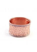 Fashionable Twinkling Diamond Bright Coppery Bracelets