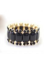 Fashionable Colorful Twinkling Diamond Elastic Force Barcelets