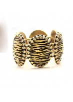 Sexy Leopard Imitated Diamond Elastic Force Bracelets For Parties