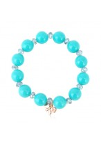 Exquisite Shell Pearl Color Stone Beads Crystal Bracelets