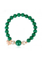 Girls' Cool Crysal Shell Pearl Color Stone Lucky Beads