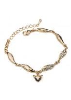 2015 New Unique Little Fox Crystal Bracelets For Women