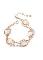 Fashionable Austrian Crystal Fritillary Bracelets For Women