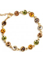 Unique Flowing Starlight Austrian Crystal Bracelets For Women