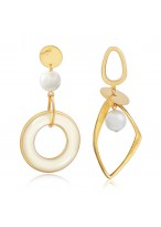 New Fashionable And Elegant Asymmetric Earrings