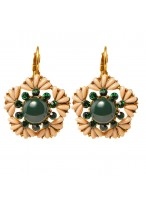 Fashionable Short Retro Handwork Earrings