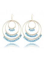 Women's Retro Gold Plated Earrings