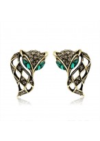 Fashionable Retro Diamond Inlaid Crystal Earrings 603