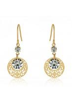 Women's Fashionable Long Crystal Earrings