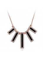 Elegant Bohemia Retro Short Crystal Collar Bone Necklace