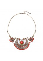 Ethnic Retro Hand Made Long Exaggerated Necklace