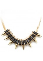 All-Match Fashionable Rivet Collar Bone Necklace