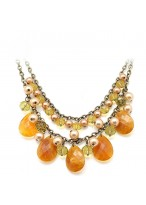 Fashionable Retro Short Collar Bone Necklace For Women