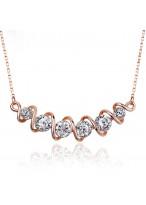 Women'S Phantom Of The Opera Fashionable Short Crystal Necklace