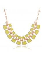 Bohemia Romantic Feelings Multicolor Fluorescent Sequins Collar Bone Necklace