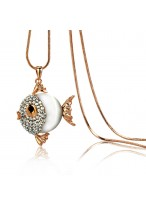 Exquisite Long Small Fish Necklace