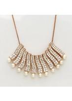 Women'S Elegant Short Pearl Fritillary Necklace