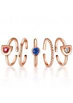 925 Sterling Silver Original Fashion Gilrs Ring