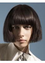 Kappenlos Kurz Synthetische Haar Perücke
