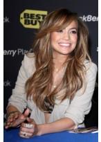 Jennifer Lopez Locken Synthetische Vollspitzen Perücke