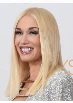 Gwen Stefani Gerade Spitzenfront Synthetische Perücke