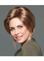 Full Lace Kurze Gerade Grau Synthetik Haar Perücke